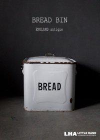 ENGLAND antique BREAD BIN イギリスアンティーク ホーロー ブレッド缶 BREAD 1920-30's
