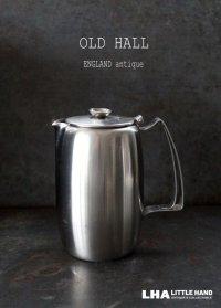 ENGLAND antique OLD HALL  Connaught イギリスアンティーク オールドホール  コーヒーポット・ウォータージャグ 1.5pt [マット仕上げ] ヴィンテージ 1950-60's