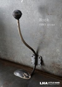 FRANCE antique Hookフランスアンティーク アイアン フック コートフック 1920-40's