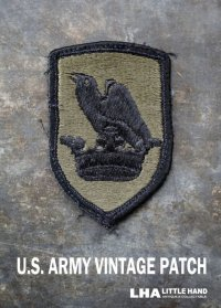 USA antique アメリカアンティーク U.S. Army PATCH  アメリカ軍 ヴィンテージパッチ 実物 ワッペン US ミリタリーワッペン 1960-80's