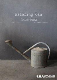 ENGLAND antique Watering Can イギリスアンティーク ブリキ ウォータリングカン ジョウロ ヴィンテージ 1960's