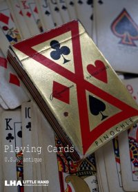 U.S.A. antique Playing Cards アメリカアンティーク ヴィンテージ プレイイングカード トランプ