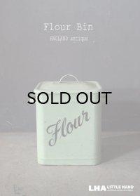 【RARE】ENGLAND antique HOMEPRIDE Flour Bin フラワー缶 1920-50's
