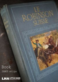 FRANCE antique NELSON BOOK フランス アンティーク 本 ネルソン 古書 洋書 アンティークブック 1910-20's
