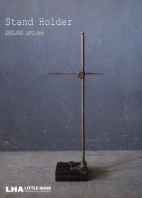 ENGLAND antique Stand Holder イギリスアンティーク メタルスタンドホルダー スタンド ヴィンテージ 1950-60's